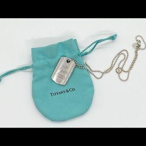 Tiffany & Co. Dog Tag